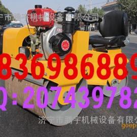 小型座驾式振动压路机 腾宇双钢轮振动压路机 山东小型压路机