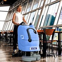 EMC小型洗地机 手推式全自动洗地机