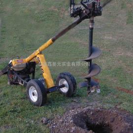 小型液压挖坑机、手推式液压挖坑机