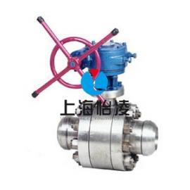 焊接硬密封球阀 上海怡凌Q61浮动式金属密封球阀