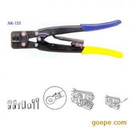 LOBSTER日本虾牌手动端子压线钳AK-123