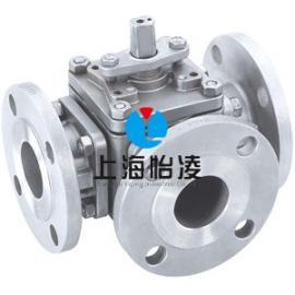 三通球阀 上海怡凌Q344/5三通L型/T型球阀