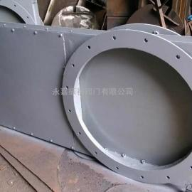密闭式手动单向插板阀 双向闸板阀 螺旋闸门