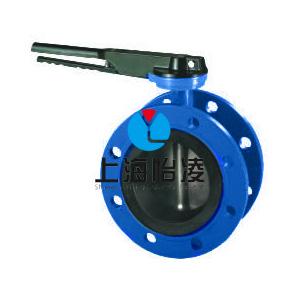 水处理 灌溉 排污专用D341X型法兰式蝶阀上海生产厂家