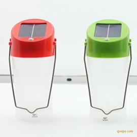 太阳能手提灯太阳能探照灯手提太阳能野营灯手提太阳能LED灯