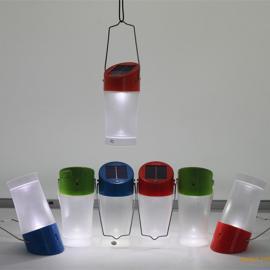 太阳能探照灯手提太阳能LED灯手提太阳能野营灯太阳能手提灯