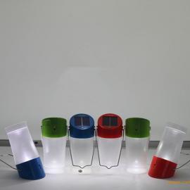手提太阳能LED灯太阳能探照灯手提太阳能野营灯太阳能手提灯