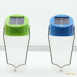 手提太阳能LED灯野营太阳能灯手提太阳能探照灯太阳能手提灯