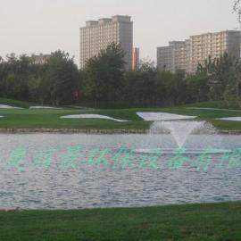 高尔夫人工湖造景喷泉