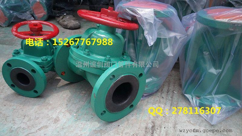 衬胶隔膜阀 g41j-16c 国/英标衬胶隔膜阀图片