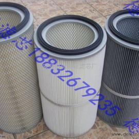 覆膜防静电聚酯纤维除尘滤芯3266