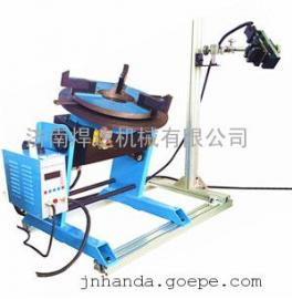 简化升级】双工位管子法兰焊接机 自动化管法兰专机 环缝焊机