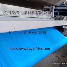 城市污水处理厂污泥脱水机用什么型号的滤带滤布效果好?