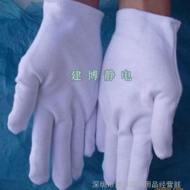 厚纯棉手套  阅兵白手套 升旗礼仪手套 司机手套