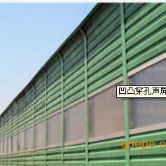 高速桥梁凹凸穿孔隔声墙声屏障
