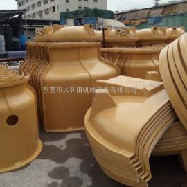 深圳30吨冷却水塔,60吨圆形冷却塔,冷却水塔厂家直销