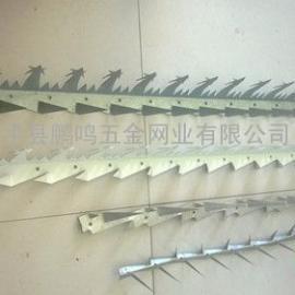 厂家直销多种型号防爬刺钉,喷塑刺钉,安全刺钉