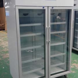 批发供应960升立式双门大容积药品阴凉柜价格优惠