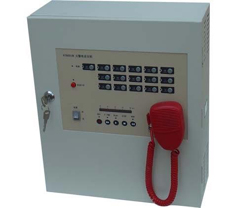 单门壁挂式消防火警电话主机/消防电话主机