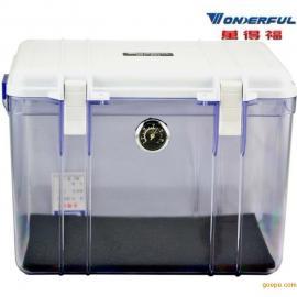 海南万得福DB-3828  电子塑料透明箱 相机防潮箱