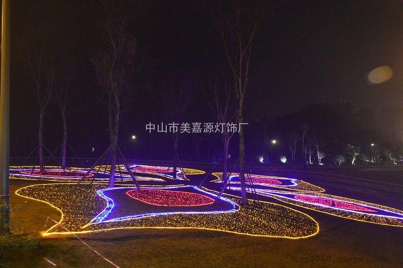 城市夜景亮化灯,街道美化灯,公园亮化灯具图片