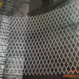 辽宁钢板喷漆围栏网 挡粮钢板网2个厚菱形钢板拉伸板网厂家