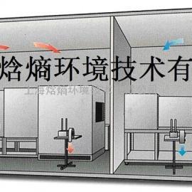 大客车顶置式空调性能试验室-焓熵环境