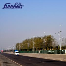 湖北武汉,十堰,宜昌风光互补路灯发电