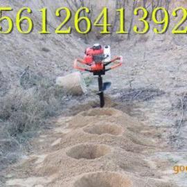 钻井挖坑机地钻钻孔机