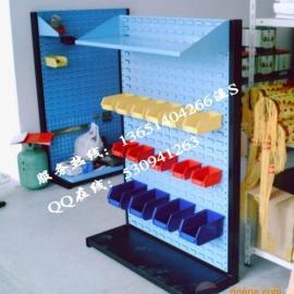 单面工具整顿架,双面工具排列架,双面地脚螺栓货架产品品牌百货