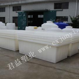 2.1米*1.1米*0.7米的敞口塑料方桶