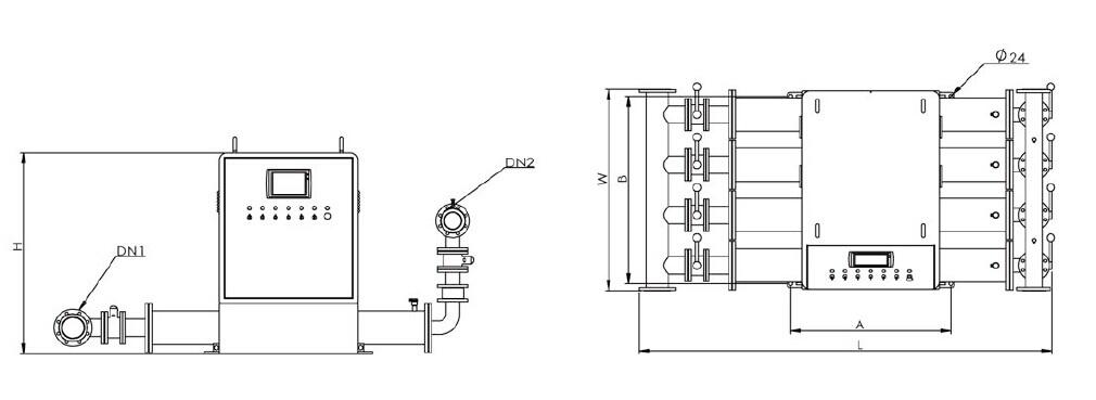 该系统主要由单台或数台管中加压泵,变频器plc pid,压力传感器,终端及图片