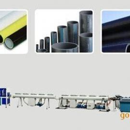 PPR、PE管材挤出线、塑料管材设备