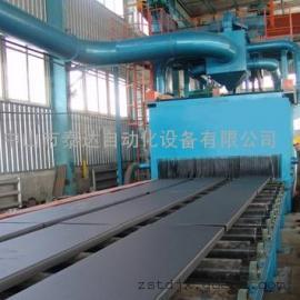 钢管专用外壁抛丸机 钢管抛丸机 钢管通过式抛丸机