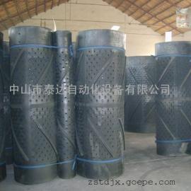 专业生产抛丸机橡胶履带-履带抛丸机专用配件履带