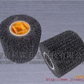 专业生产销售黑金钢拉丝轮,黑色抛光拉丝轮,黑质硬砂轮