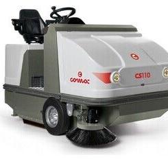 CS 110 D  柴油引擎驱动驾驶式无尘清扫车