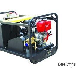 德国MH20/15DE工业级柴油引擎驱动冷热水高压清洗机