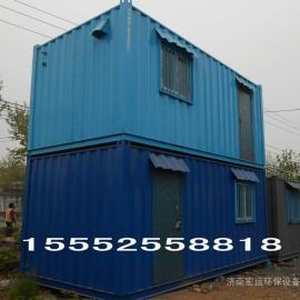 济南吊装式集装箱房|建筑工地用房
