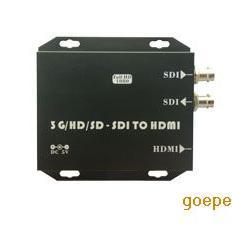 深圳视频转换器SDI转HDMI高清信号处理SDI摄像机转HDMI显示器
