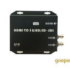深圳麦恩HDMI转SDI转换器HDMI摄像机接SDI显示器