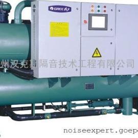 热泵机组噪声治理,冷热泵系统噪声处理,风冷热泵隔音