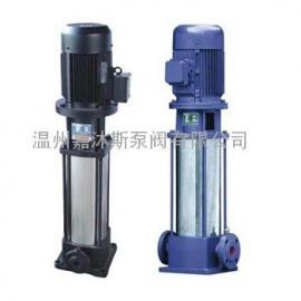 边立式电动多级泵