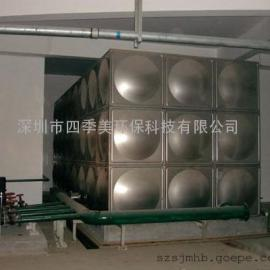 广东汕尾珠海?#20998;?#19981;锈钢水箱(方形水箱,生活用水箱)制作