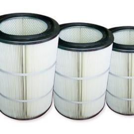 过滤碳粉用高精密覆膜粉尘滤芯 除尘滤芯