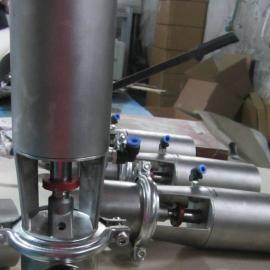 卫生级L型气动截止阀