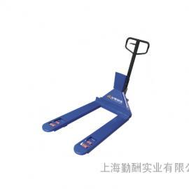 YCS-EX(宽叉)标配防爆接线盒液压叉车秤