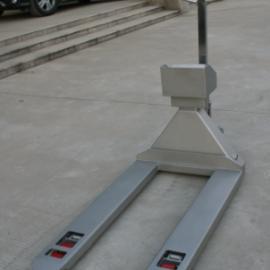 YCS-SS(宽叉)全不锈钢制作 电动叉车秤