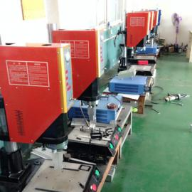 绑带超声波焊接机,鸿劲超声波焊接设备,塑焊机