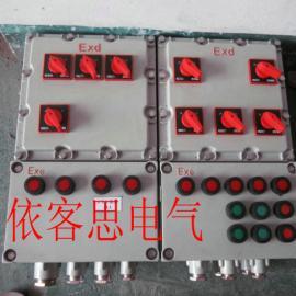 BXD53-9防爆动力配电箱带喇叭口防爆电气箱